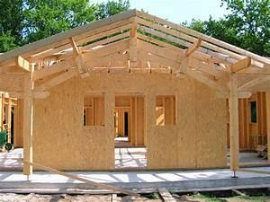 Maison Modulaire Bois : mieux comprendre la charpente bois maison bois modulaire ~ Melissatoandfro.com Idées de Décoration