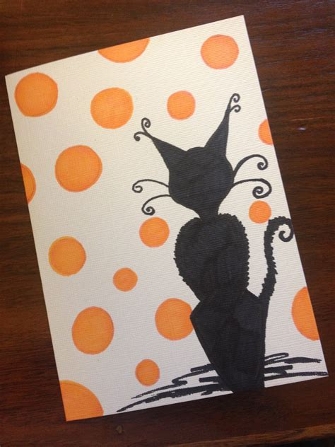 homemade halloween cards festival collections