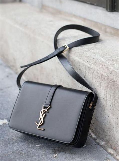classic medium monogram universite shoulder bag  yves saint laurent styleinspiration