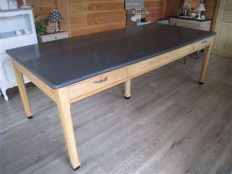 repeindre table de cuisine en bois tendancesdesign fr