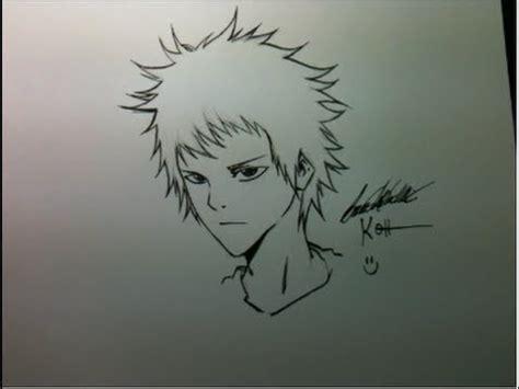 tutorial como desenhar manga rosto masculinogaroto jovem