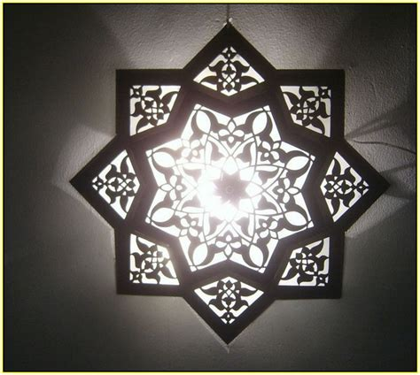 white moroccan ceiling light home design ideas