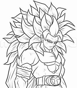 Goku Face Drawing Super Saiyan How To Draw: Goku Super ...