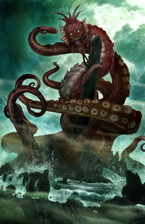 amazing hp lovecraft inspired artworks