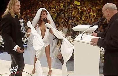 Lita Wwe Weddings Edge Kane Turned Into