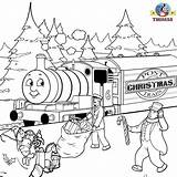 Train Christmas Thomas Coloring Pages Printable Sheets Xmas Tank Engine Colouring Percy Friends Frozen Children Printables Trains Snow Clip Seasons sketch template