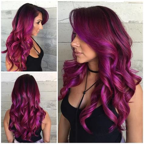 purple hair color styles pictures of hair color hairstyles 2016 9168