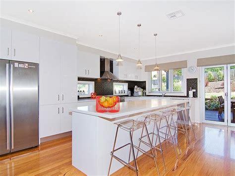 u shaped modern kitchen designs modern u shaped kitchen design using floorboards kitchen 8650