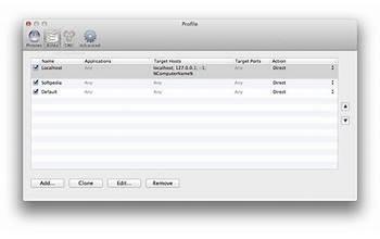 Proxifier screenshot #4
