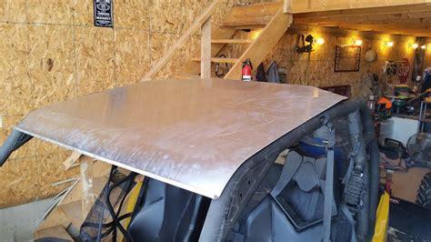 commander xt homemade roof   commander