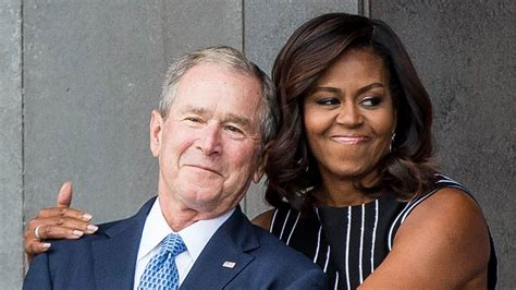 Ellen Degeneres George Bush george  bush  friendship  michelle obama 1920 x 1080 · jpeg