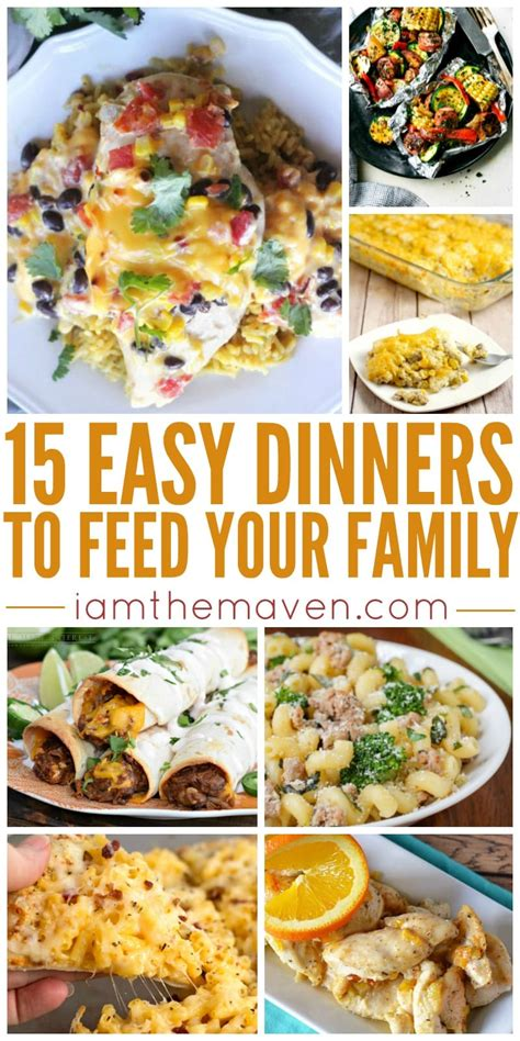 Easy weeknight summer sides 28 photos. Try One of These Easy Dinner Ideas Tonight!   I am the Maven®