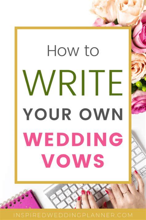 tips    write   wedding vows find