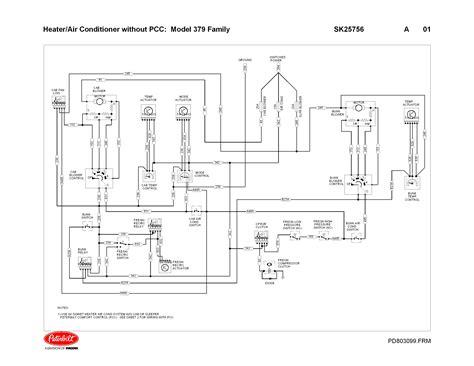 Peterbilt Wiring Harnes Diagram by Blower Dont Work In Sleeper 1998 379