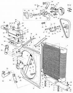Parts For Jaguar E-type Serie I And Ii  6 Cylinder   U2022 Cooling System 3 8