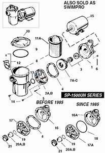 Hayward Power-flo 1500 Series Parts