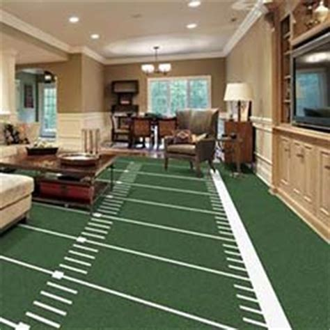 football field rug gridiron printed carpet
