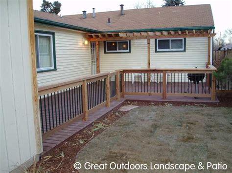 denver colorado landscaping decks patios