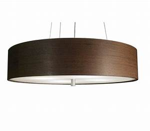 Wood veneer ceiling lights : Wood veneer drum by donovan lighting ceiling shade