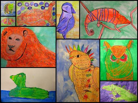 Animal Portraits, Inspired By Andy Warhol's Endangered