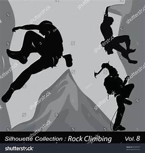 Rock Climbing .Vector Illustration - 92969587 : Shutterstock