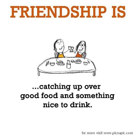good food good friends quotes quotesgram