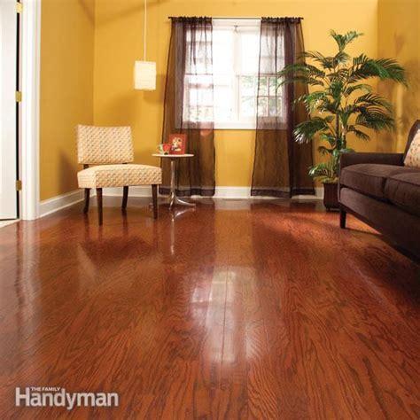 Refinish Hardwood Floors in One Day ? The Family Handyman