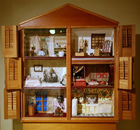 Dollhouse   Dollhouse, 1972, wood and mixed media by