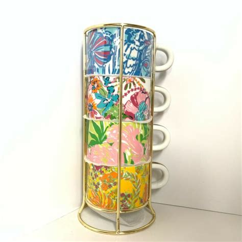 Buy the most amazing collection of coffee mug sets online at clay craft india. Lilly Pulitzer for Target 5pc Porcelain Stacking Espresso ...