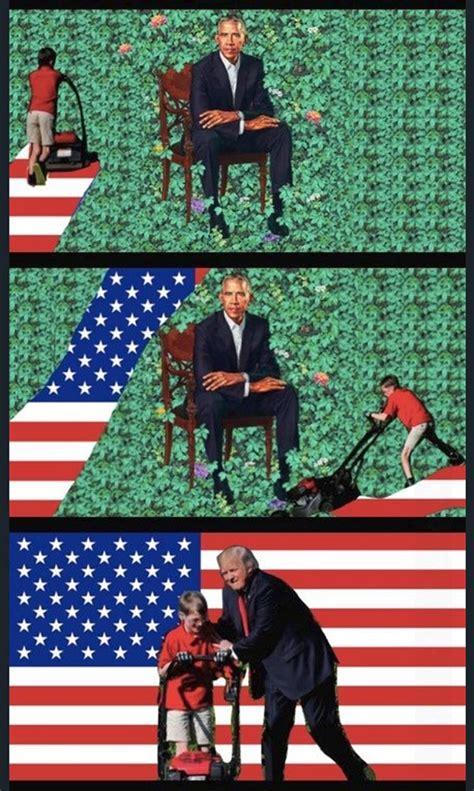 Obama Portrait Memes - memes mocking obama s portrait lol 24hourcfire