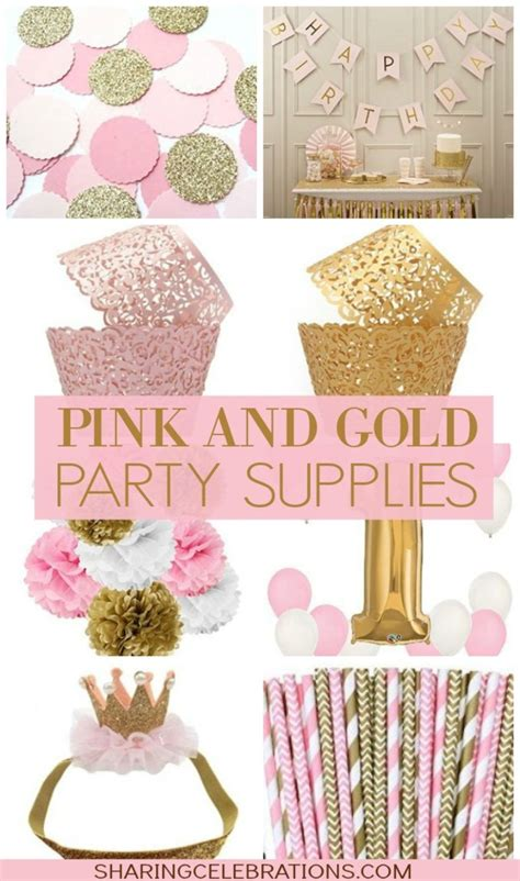 Pin By Brittani Brown On Ciena's Birthday In 2019 Gold