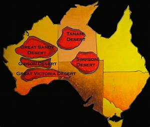 Australian Desert Map | Car Interior Design