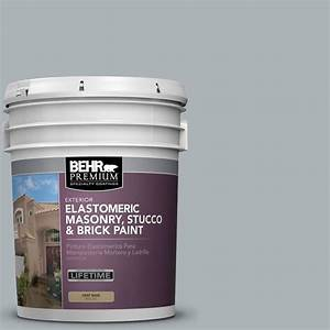 BEHR Premium 5 gal. Elastomeric Masonry, Stucco and Brick ...