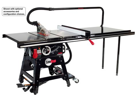 sawstop table saw dimensions sawstop cns175 tgp36 1 3 4 hp contractor saw with 36 inch