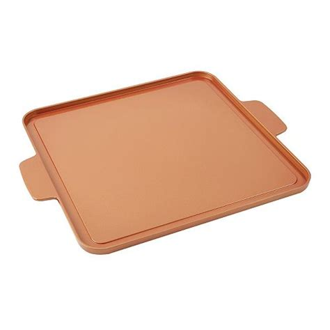 copper chef griddle plate    tv