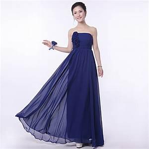 Aliexpress.com : Buy Navy Blue Bridesmaid Dresses Chiffon ...
