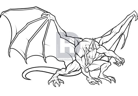 Cool Drawings to Draw Easy Dragons