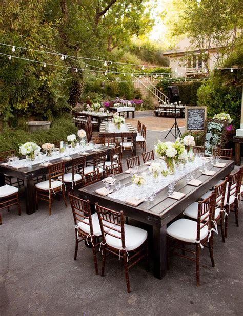 Long Table Wedding Reception Decoration ideas Archives