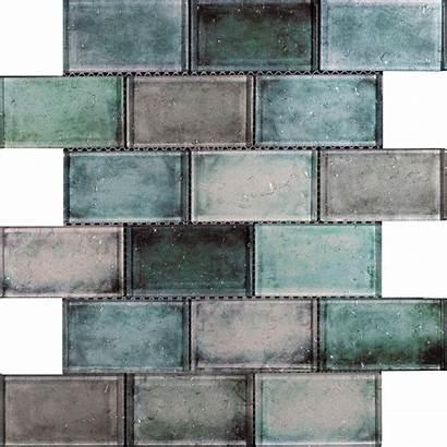 Glass Tiles Mosaic Raindrop Tile Brick Effect