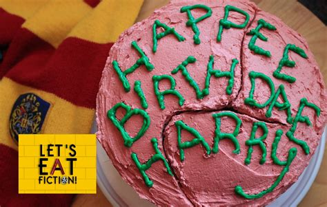 hagrids birthday cake harry potter lets eat fiction