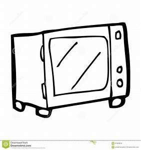 Cartoon Microwave Royalty Free Stock Image - Image: 37023876