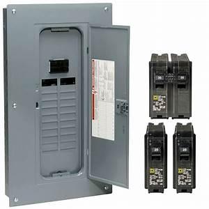 100 Amp Breaker Panel 40 Circuit Load Center Square D