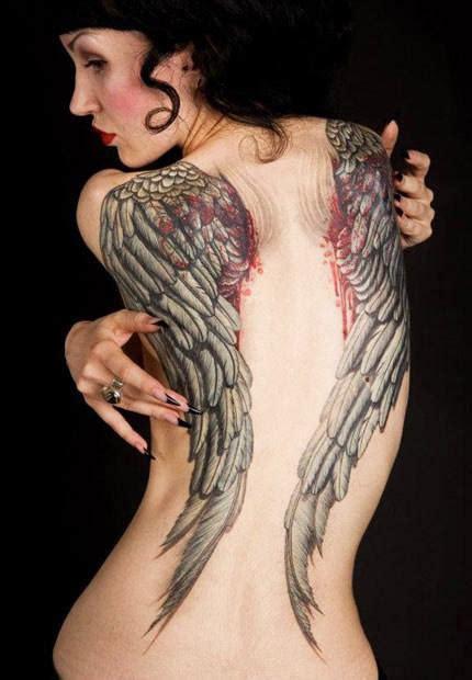 tattoo  pavel angel post