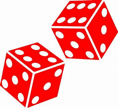 Dice Clip Clipart Sided Six Vector Sides
