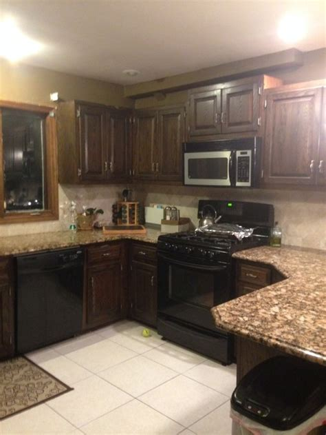 painting kitchen cabinets black is there a way to make my kitchen cabinets look better 4025