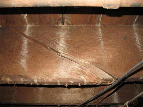 How To Fix Broken Floor Joist by Cracked Floor Joist Tribuzio Home Inspection Services