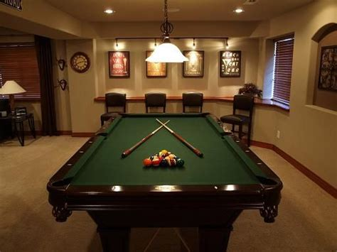 pool table in a small room pool table room colorado basement finishing experts viking custom builders llp projects