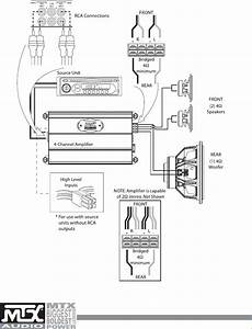 5 Channel Car Amp Wiring Diagram  U2013 Dogboi Info