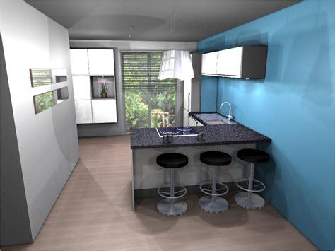 bar dans cuisine bar dans cuisine ouverte ilot bar cuisine cuisine