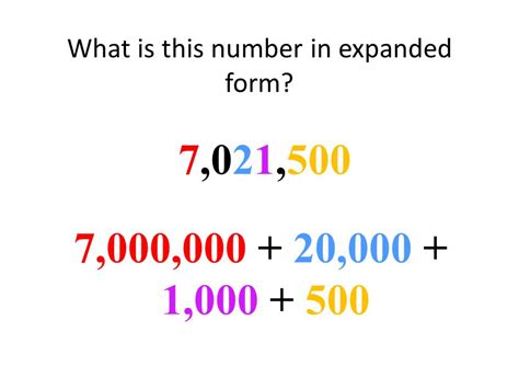 today we will manipulate large and small numbers